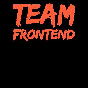 Frontend Programmierer Team