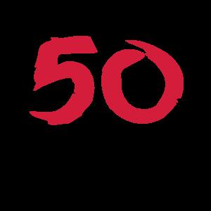 50 Geburtstag ü 50 Geschenk 50.