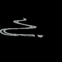 Skifahrer Spur
