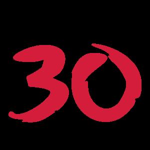 über 30 ü30 ü 30 Geschenke Geburtstag T-Shirt