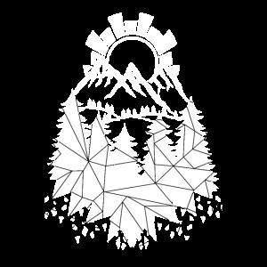 Wandern Berge Wald