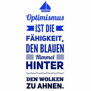 Optimismus ist...boot