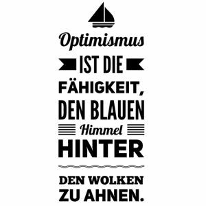 Optimismus ist...boot-s