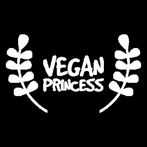 Vegan Prinzess Spruch Fleischfrei Geschenk