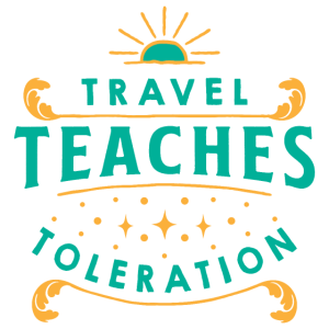 travel teaches toleration