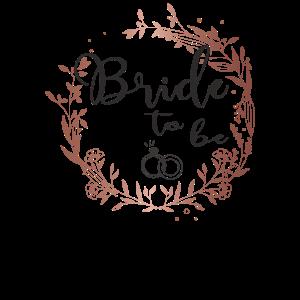 Bride to be Braut JGA Hochzeit Party Junggeselle