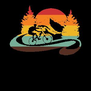 retro Mountainbike für Mountainbiker