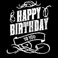 Happy birthday Geburtstag Herzlichen Glückwunsch