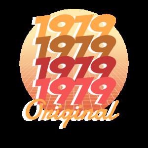 1979 Original Geburtstagsgeschenk 40. Geburtstag