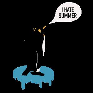 Witziger Pinguin