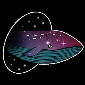 Wal Galaxy Weltall Universum Ozean