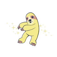 Sloth Kawaii