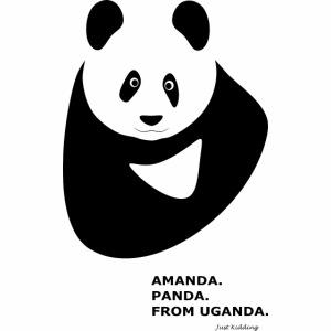 Panda from Uganda