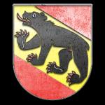 Bern Wappen aus Stein gemeißelt