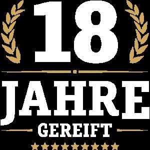 18 JAHRE GEREIFT | AUSZEICHNUNG