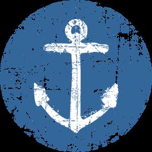 Anker Schild Segel Design für Segler