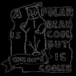 A Polar Bear Is Cool, But... (Black)