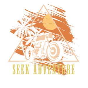 Strebe nach Abenteuer Motorrad Road Trip