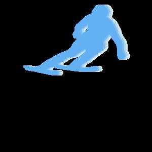 Abfahrt Ski