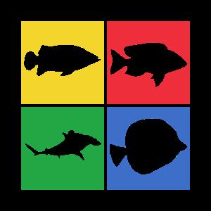 Meeresbewohner Fischer