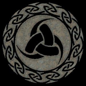 Odin Horn, Keltischer Knoten, Viking, Symbol