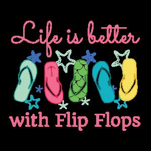 Flip Flops Urlauber Strand Meer Ferien Sommer