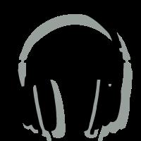 Kopfhörer mit Schatten
