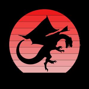 Drachen Design - Fabeltier - Feuer - Fantasy