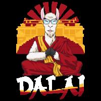 Dalai Lama Llama Alpaka Lustig Wortspiel Geschenk