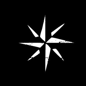 Windrose Segel Segeln Segler Vintage Schwarz-Weiß