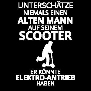 Escooter Elektroroller Tretroller Rentner Geschenk