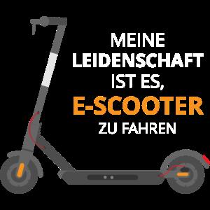 Leidenschaft eScooter Elektroroller Geschenk