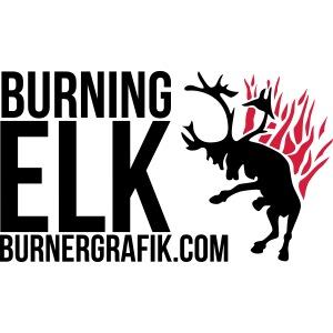 Burning Elk