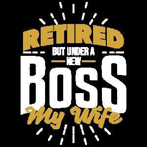 Im Ruhestand frau Ehefrau