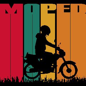 Moped Mofa Retro Style - Vintage