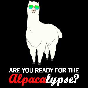 Bereit für die Alpakalypse? Alpaka Geschenk Idee