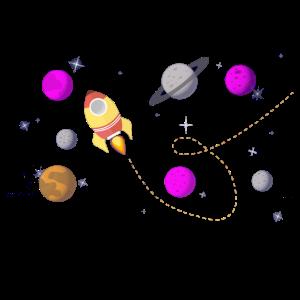 Weltraum Raumschiff Universum Geschenk