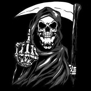 Reaper Skeleton Angel of Death Skull Blade Gift