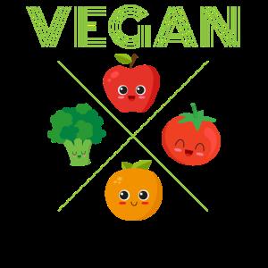Vegan Veganer Bestseller Veganerin Veganmotiv Vega