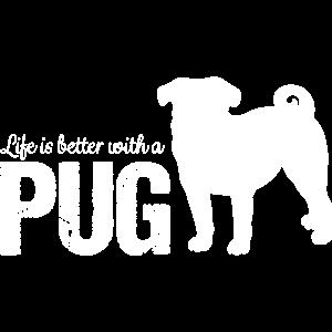 Mops Pug Geschenkidee