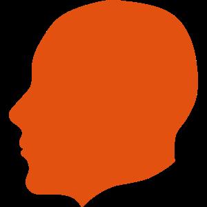 silhouette kopf profil 16 2