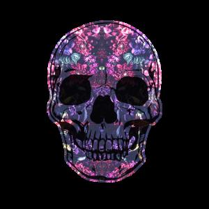 Totenschädel Flora