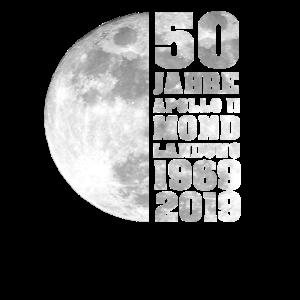 50 Jahre Mondlandung Mond Geschenk