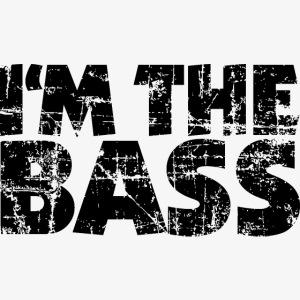 I'm the Bass Vintage Black