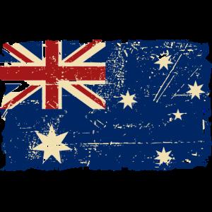 Australien - Down Under - Vintage Look