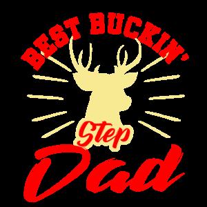 Beste Buckin Step Dad Stiefvater Vatertagsgeschenk