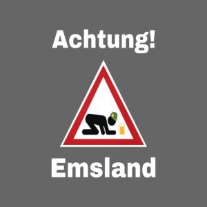 ACHTUNG Emsland Shirt T-Shirt Suff Schützenfest