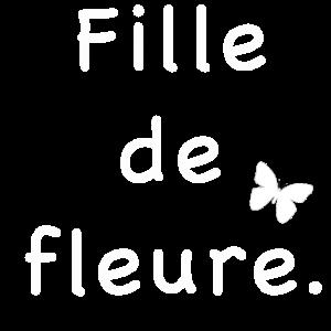 Fille de fleure
