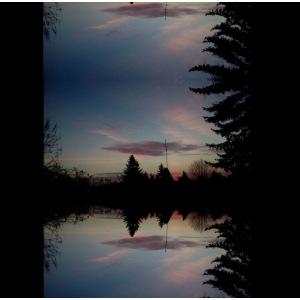 Sonnenhorizont Spiegelung Ufowolke