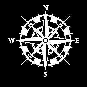 Segeln Kompass - Segelboot Segler Ozean Geschenk